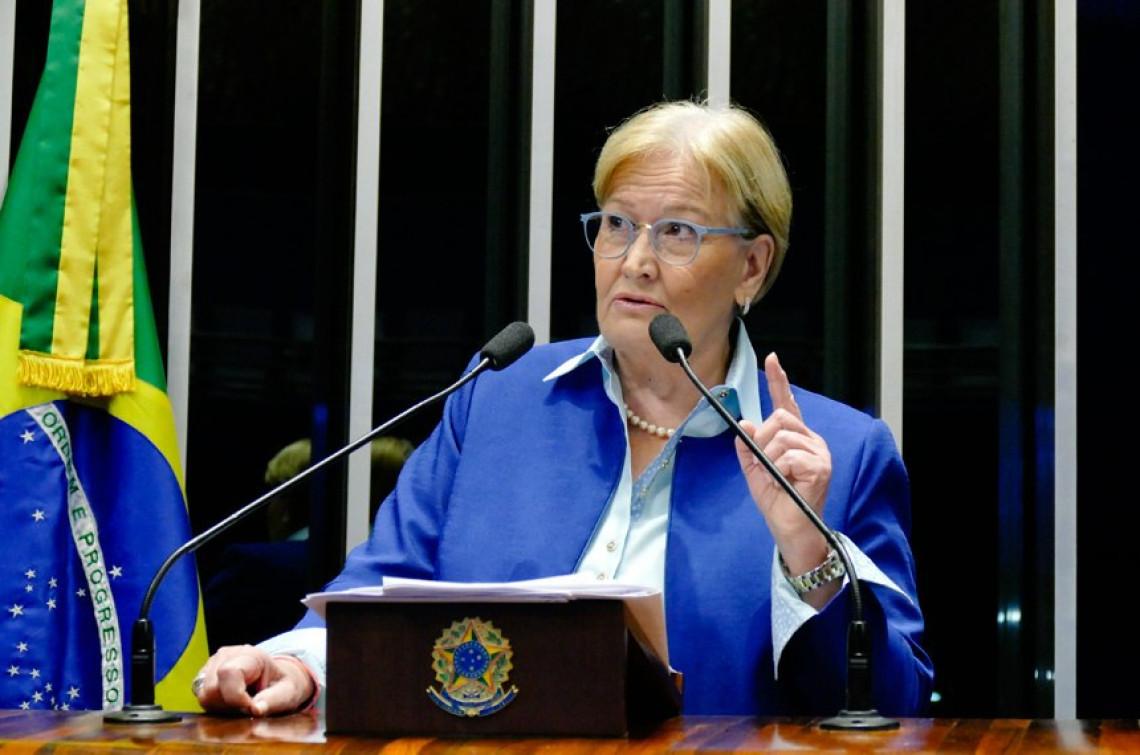 Situação da Venezuela é insustentável, diz Ana Amélia