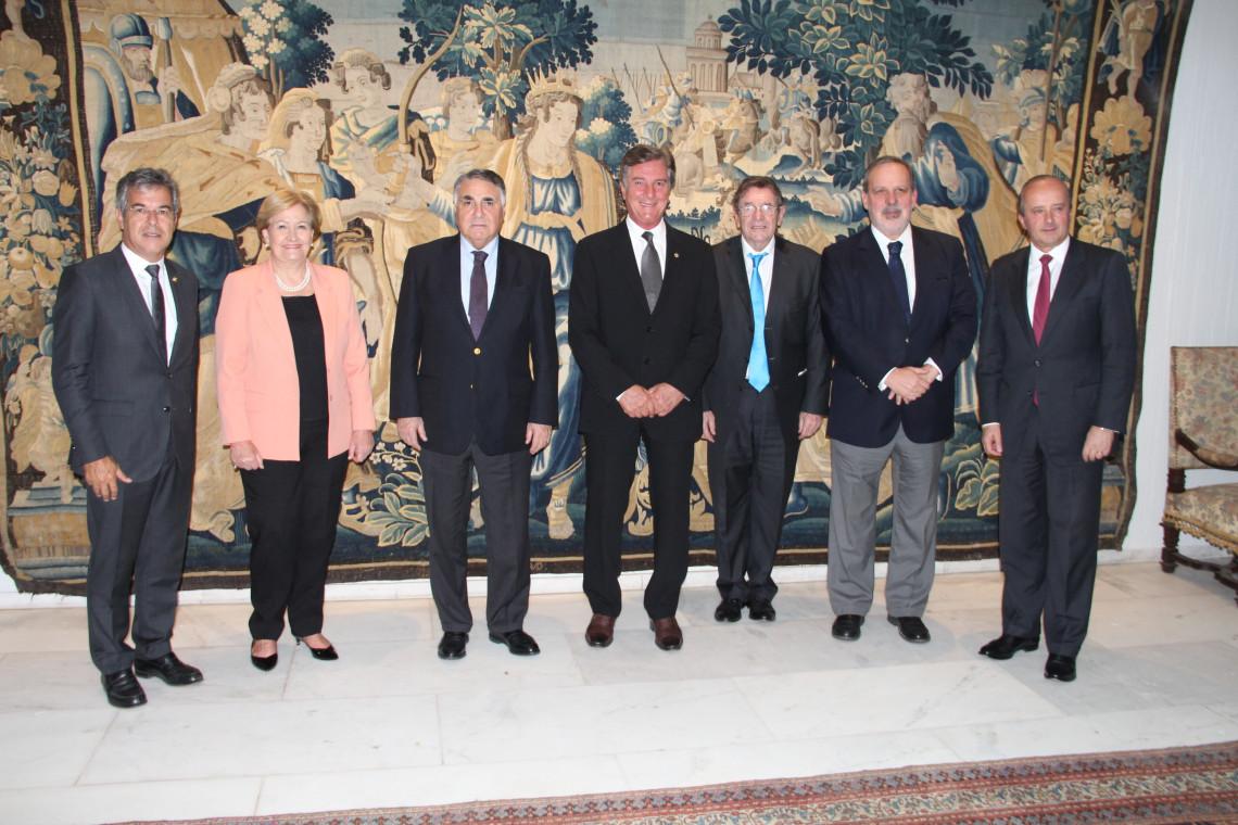 Rota Brasil-Chile é tema de recepção ao vice-ministro de Relações Exteriores chileno