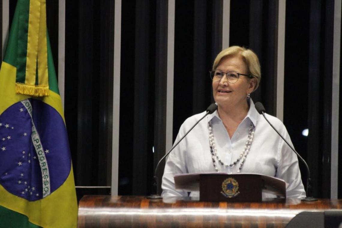 Ana Amélia condena declaração de Lula sobre regulação da imprensa