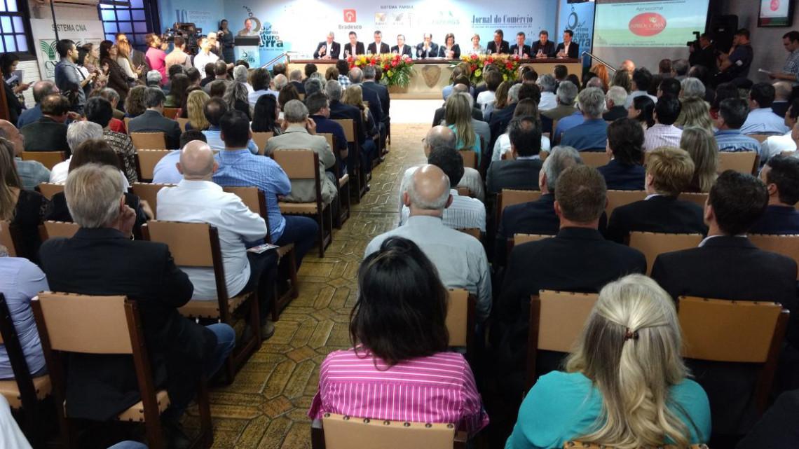 Pesquisas para o agronegócio são destaque no prêmio O Futuro da Terra