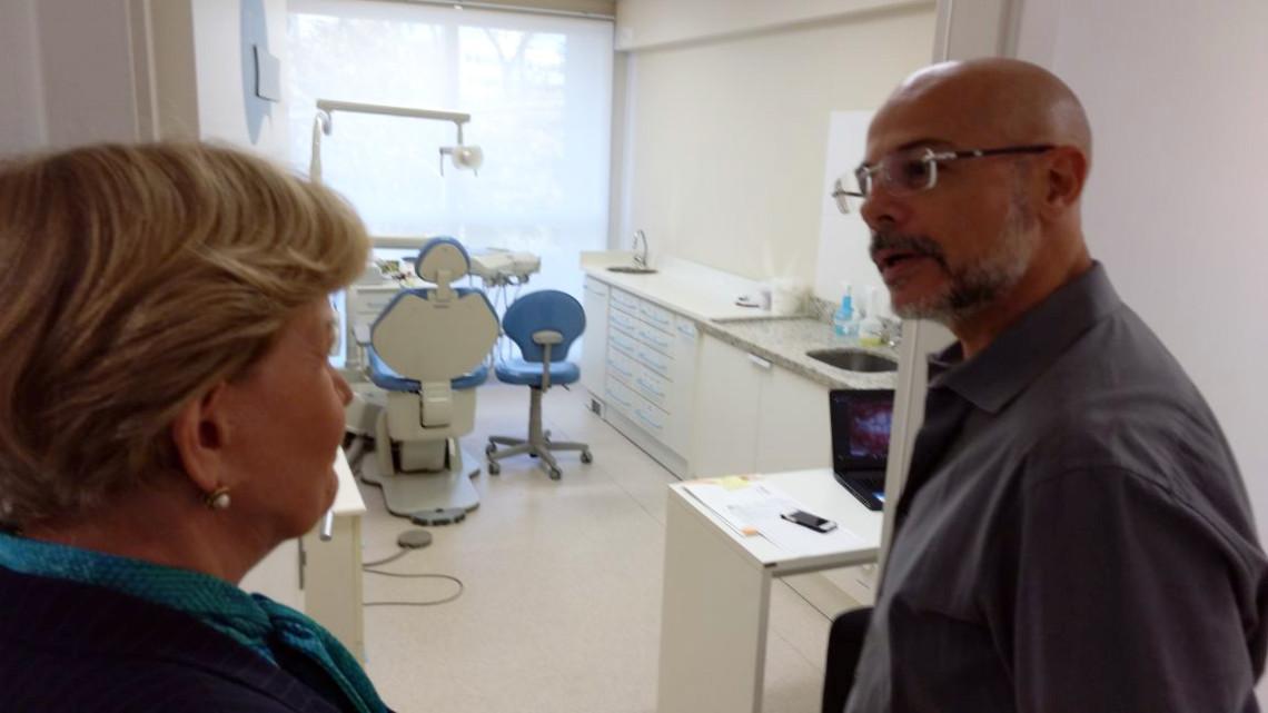 Senadora visita Hospital do Câncer Infantil, em Porto Alegre