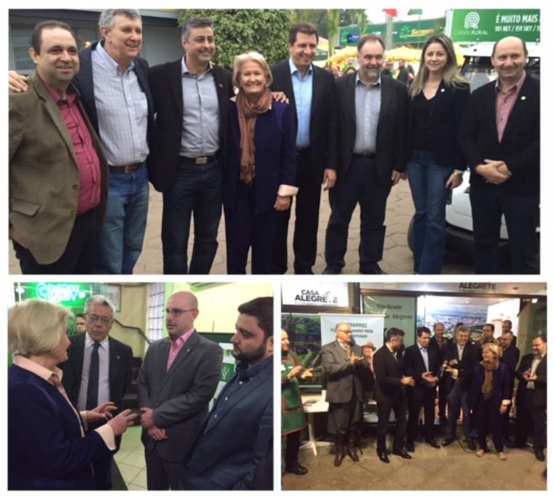 Expointer demonstra a vitalidade do setor agropecuário brasileiro, destaca senadora