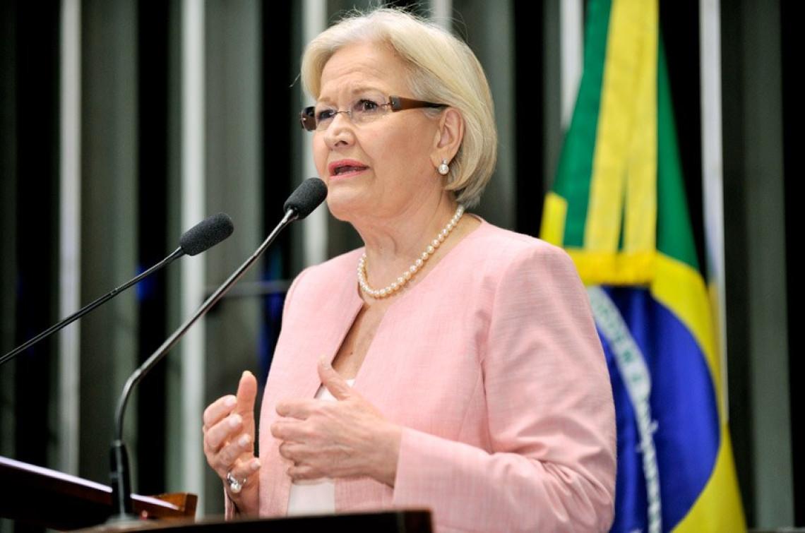 Ana Amélia critica ineficiência do Estado e recriação da CPMF