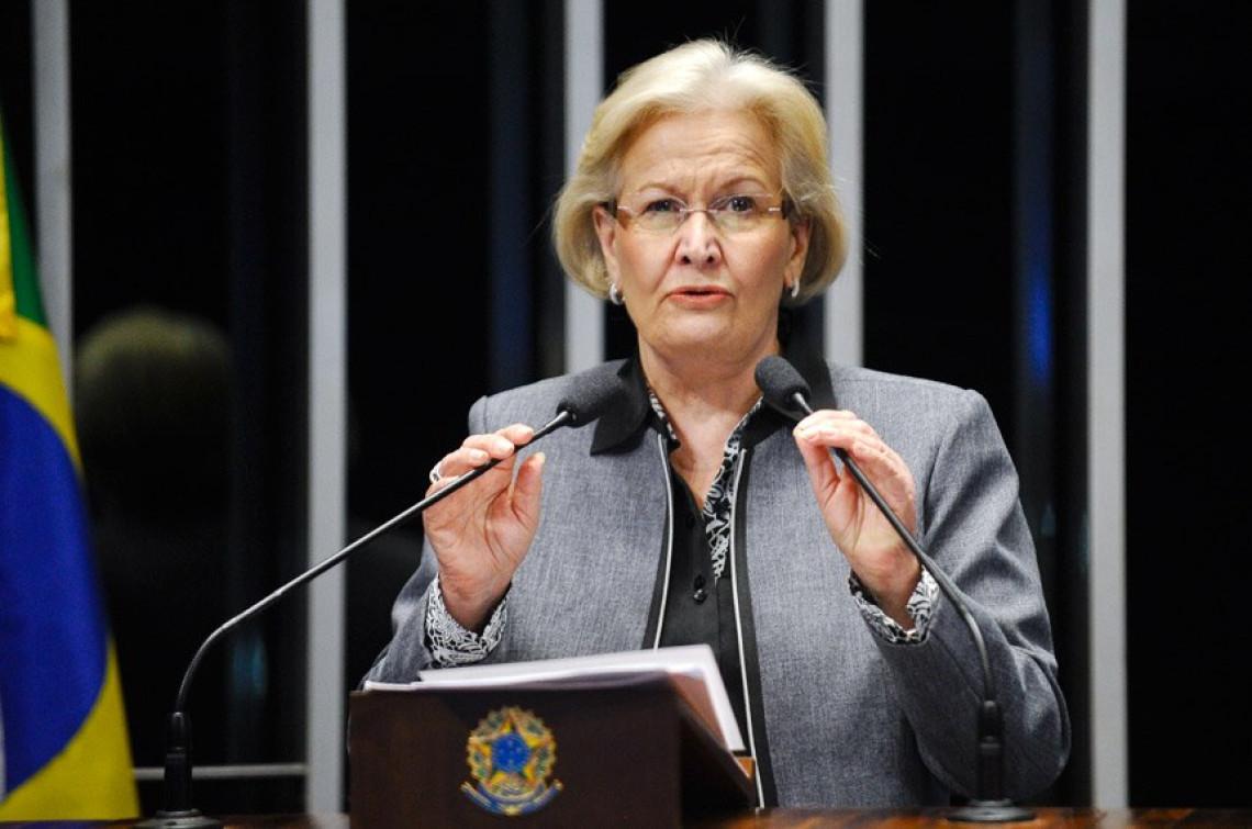 Orçamento deficitário reflete 'incompetência do governo', diz Ana Amélia