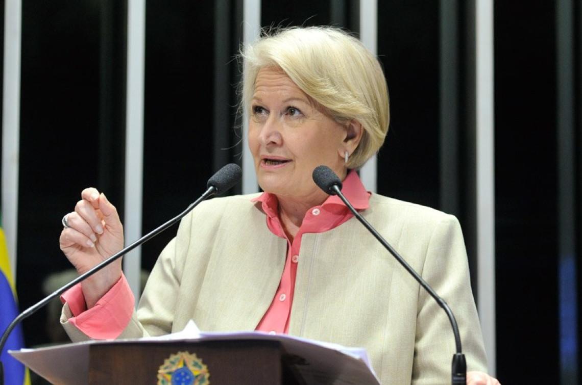 Em vez de aumentar impostos, governo precisa cortar a gastança, afirma Ana Amélia
