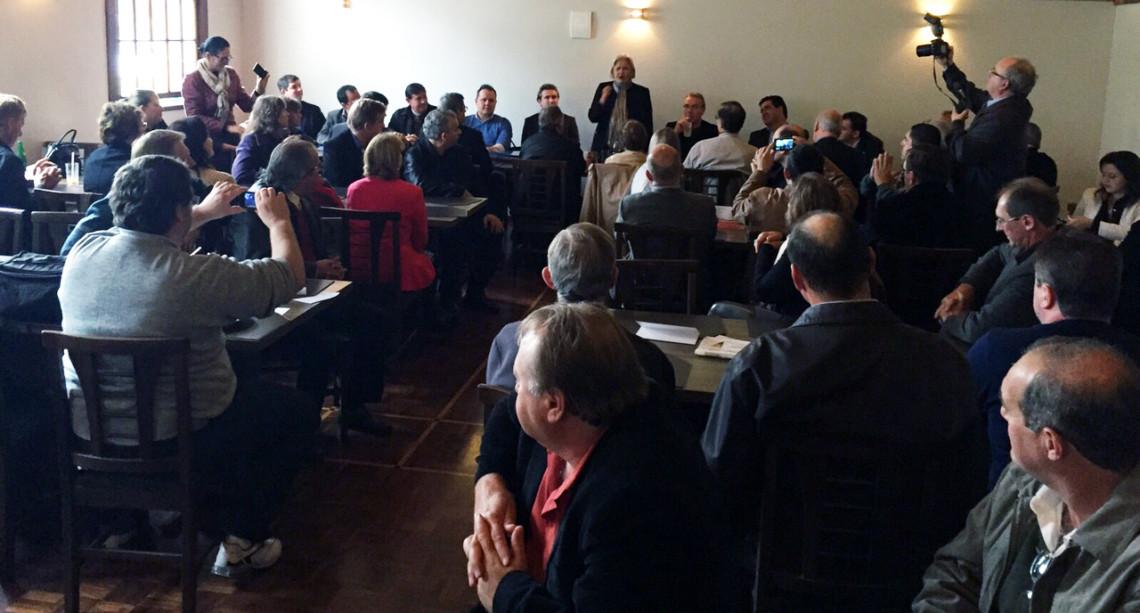 Em encontro regional do PP, em Ijuí, senadora destaca mobilização para eleições de 2016
