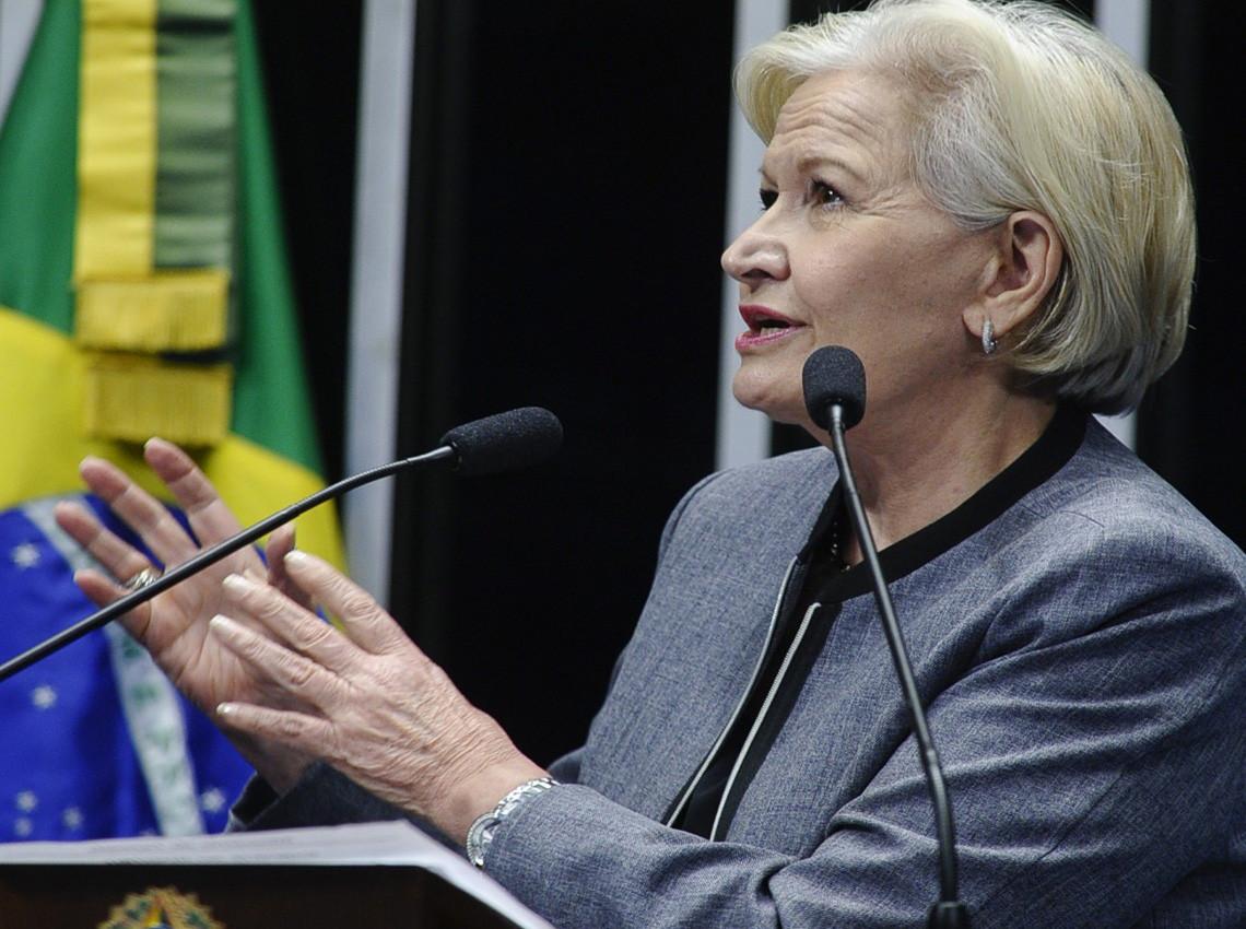 Ana Amélia ressalta a importância do setor agropecuário para a economia brasileira