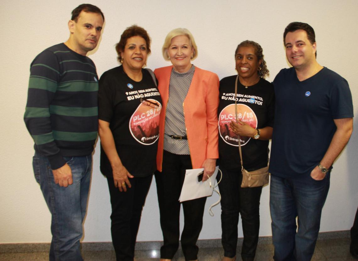 Servidores do Judiciário destacam apoio da senadora para aprovação de rejuste