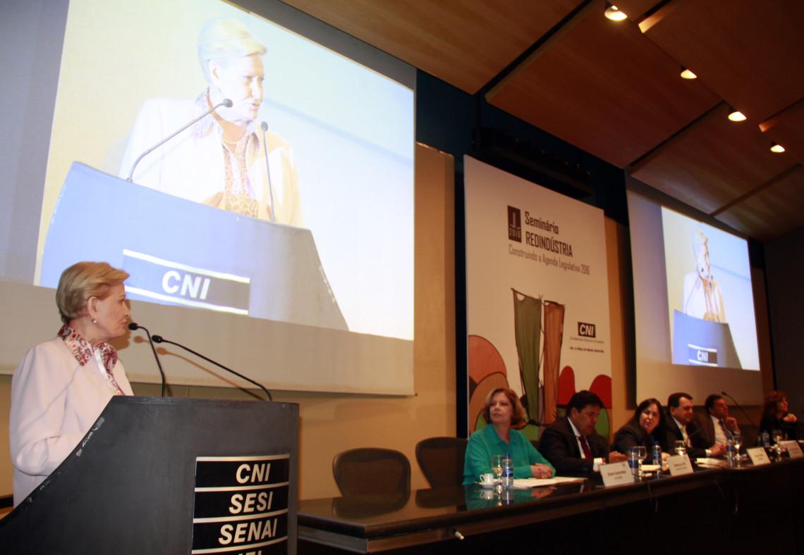 Seminário da CNI debate cenário político e econômico do País e prioridades para o setor industrial