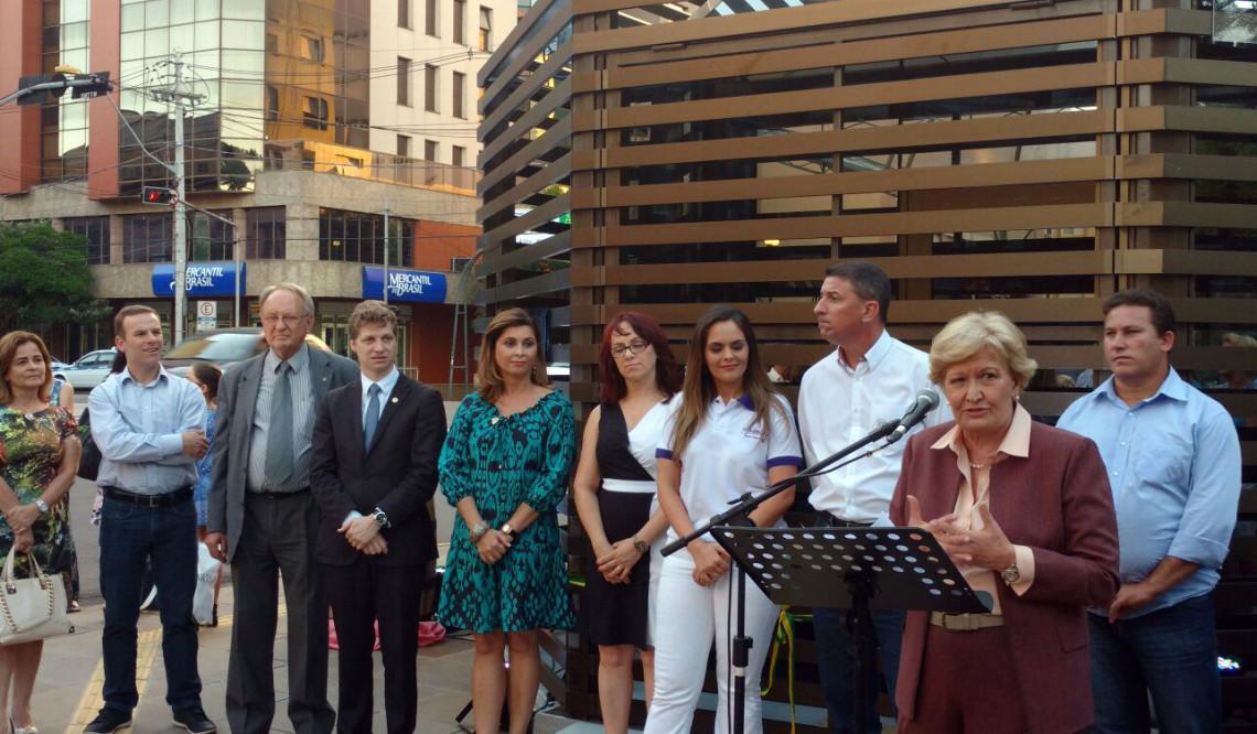 Centro de Atenção ao Turista, construído com emenda da senadora Ana Amélia, é inaugurado em Caxias do Sul