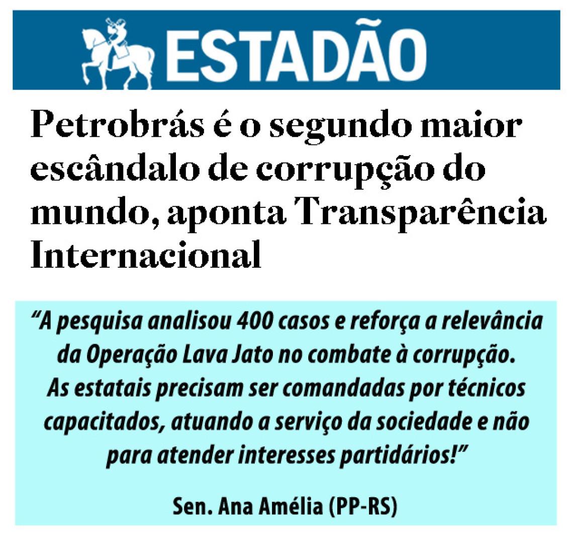 Nomeação de dirigentes deveria atender interesse público e não partidário, diz Ana Amélia
