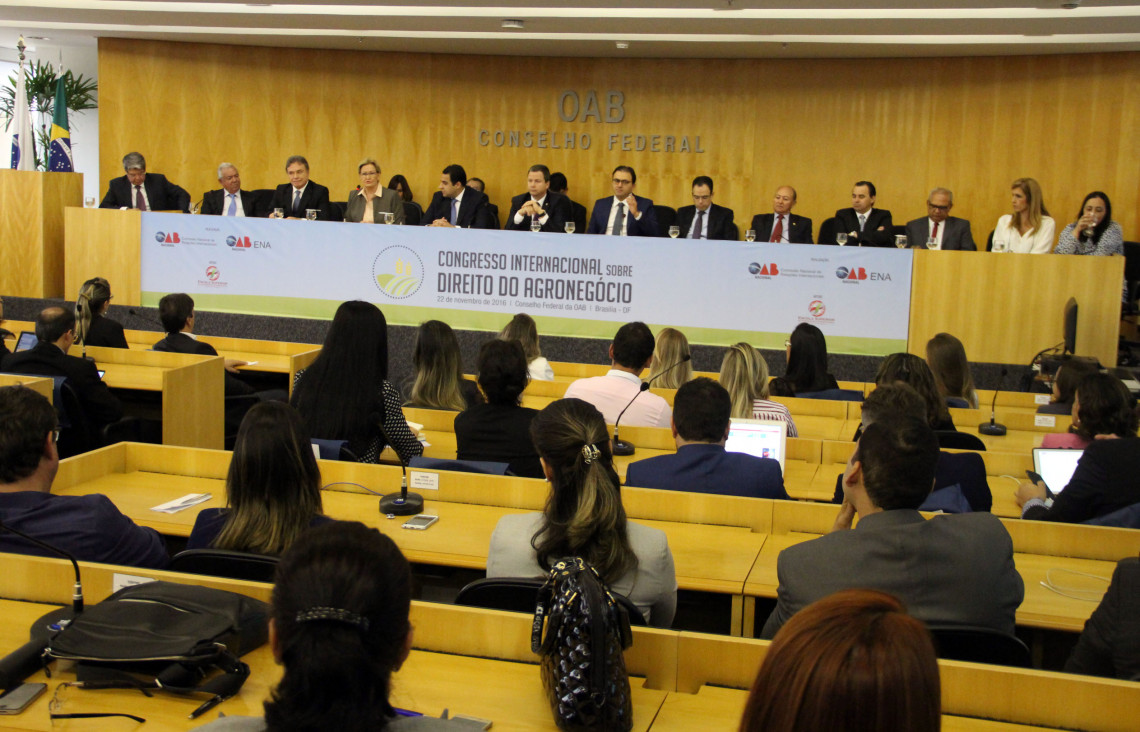 OAB promove Congresso Internacional sobre Direito do Agronegócio