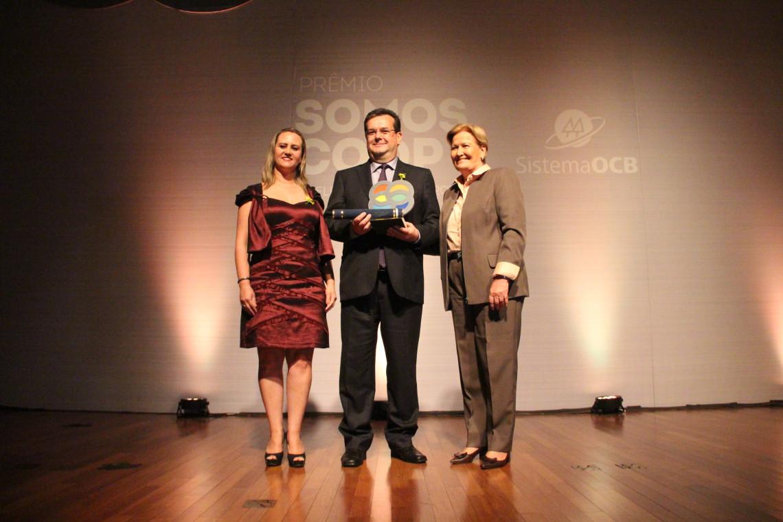 Cooperativa gaúcha é destaque em premiação do Sistema OCB em Brasília