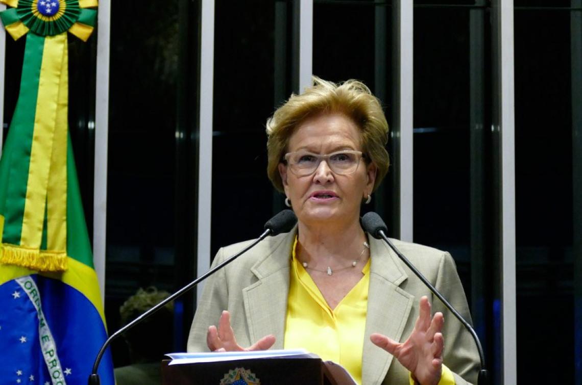 Ana Amélia diz que decisão do STF sobre escutas telefônicas não pode atrapalhar investigações