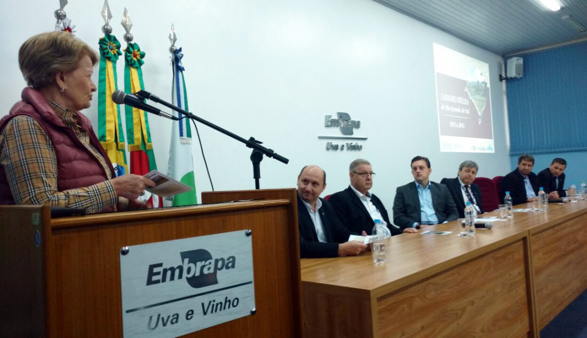 Embrapa e Ibravin apresentam dados da produção de uva no Rio Grande do Sul