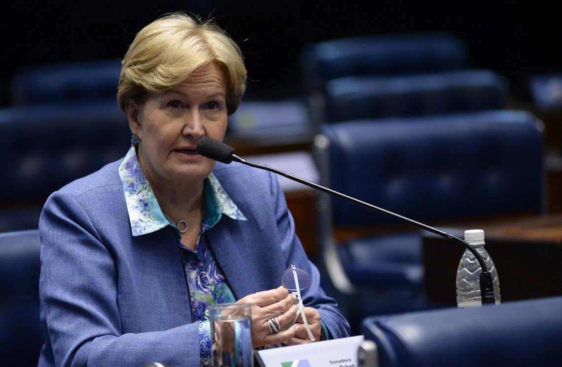 Lista fechada é uma violência à vontade do eleitor na escolha de seu candidato, diz Ana Amélia