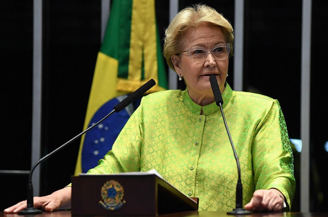 """""""Não podemos dar as costas à sociedade"""", diz Ana Amélia sobre projeto que enfraquece Lei da Ficha Limpa"""