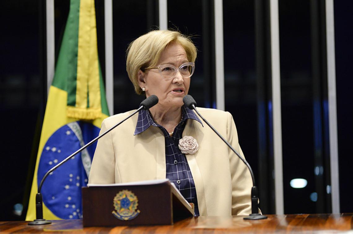 """""""Não podemos amordaçar o Ministério Público"""", diz senadora"""