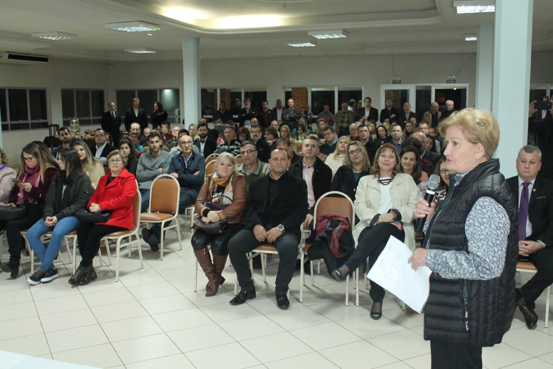 Ana Amélia inicia roteiro para apresentar ações do mandato voltadas para Fronteira Oeste