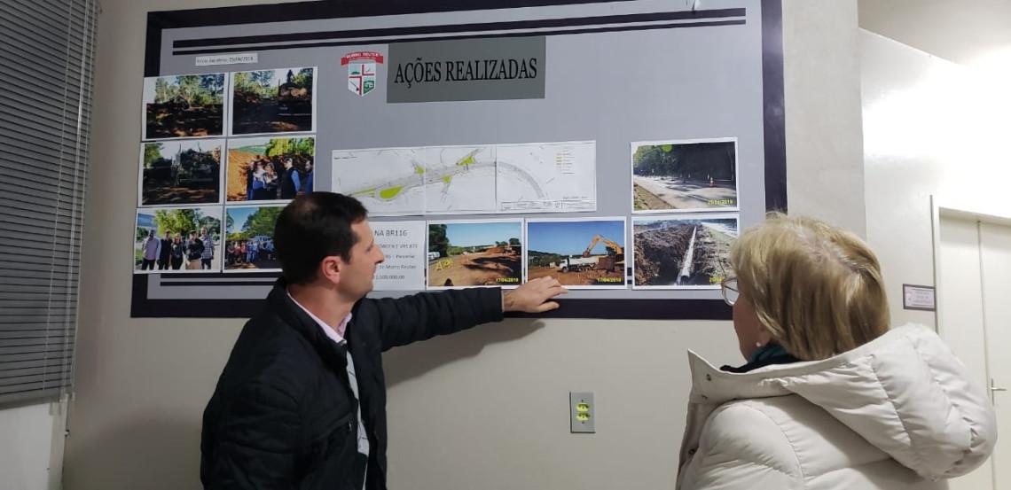Infraestrutura é pauta de reunião em Morro Reuter