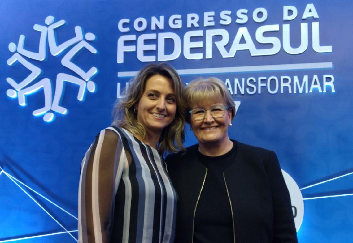 Setor público precisa de prioridades, planejamento e avaliação de resultados, diz Ana Amélia em congresso da Federasul