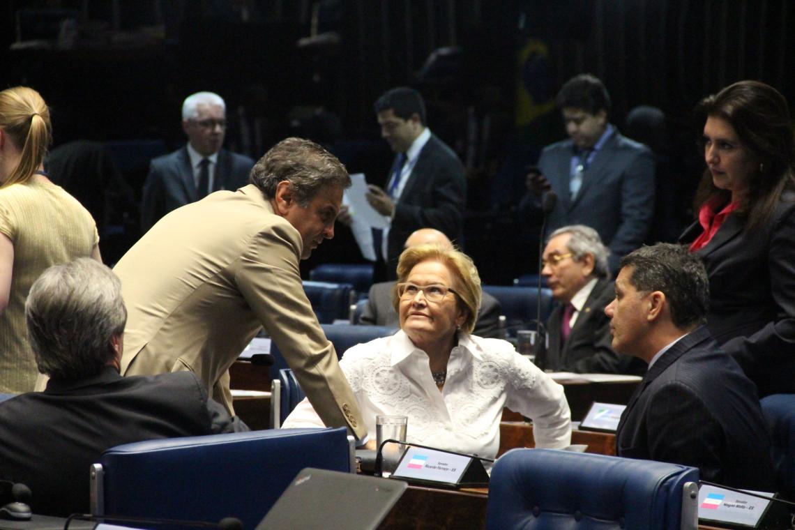 Reforma política deve unificar eleições e reduzir número de partidos, diz Ana Amélia