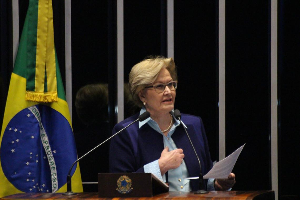 Ana Amélia denuncia invasão do MST a fazenda em Formosa (GO)
