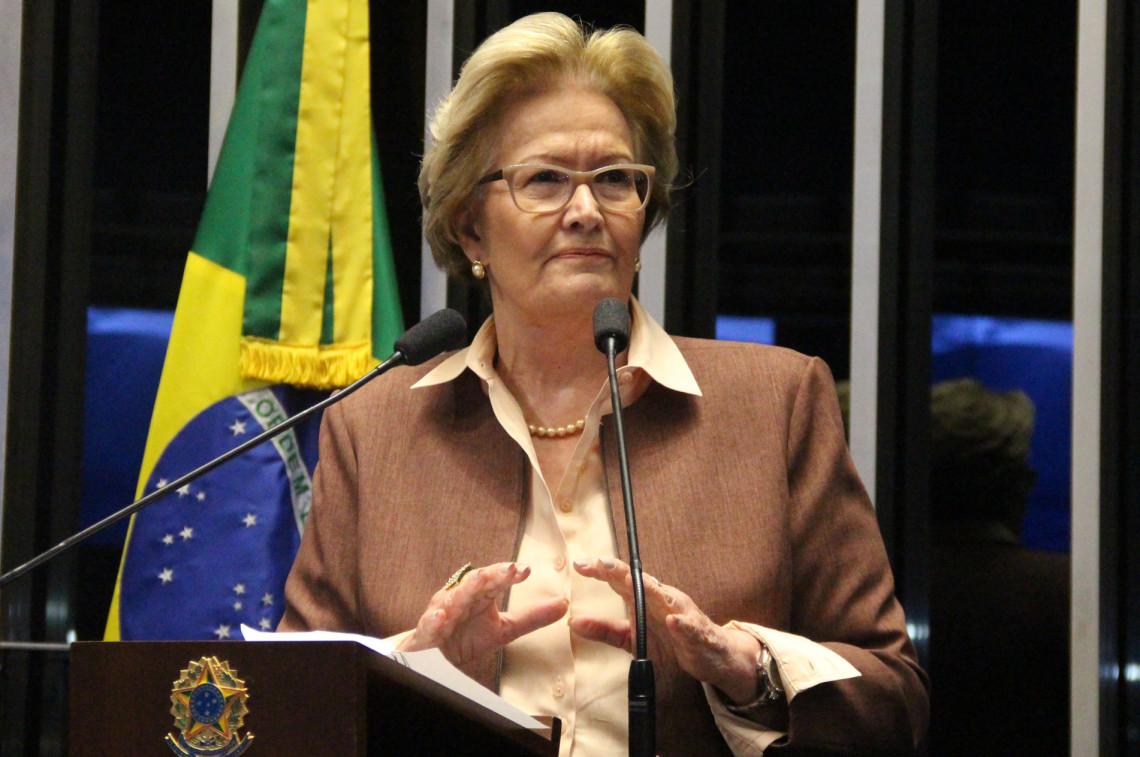 Ana Amélia é contra reajuste de salário a ministros do STF