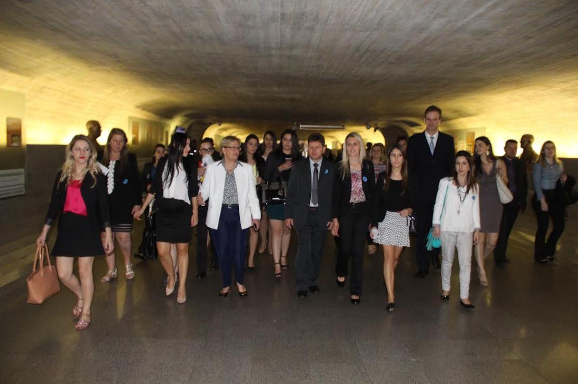 Acadêmicos de Direito do Rio Grande do Sul visitam o Senado