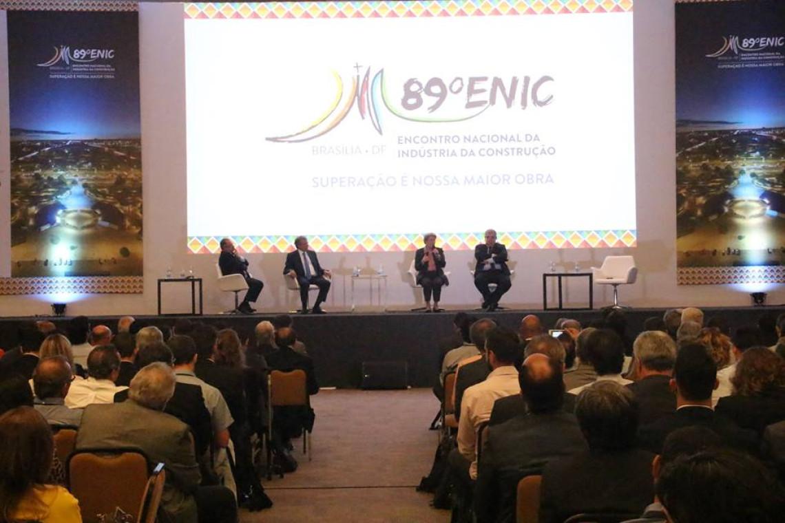 Encontro da Indústria da Construção debate o papel legislativo na recuperação da economia