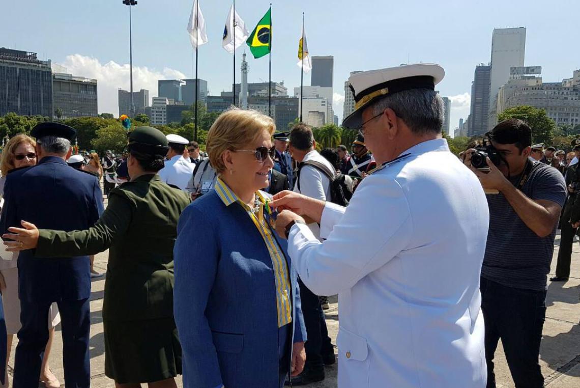 Ministério da Defesa entrega Medalha da Vitória