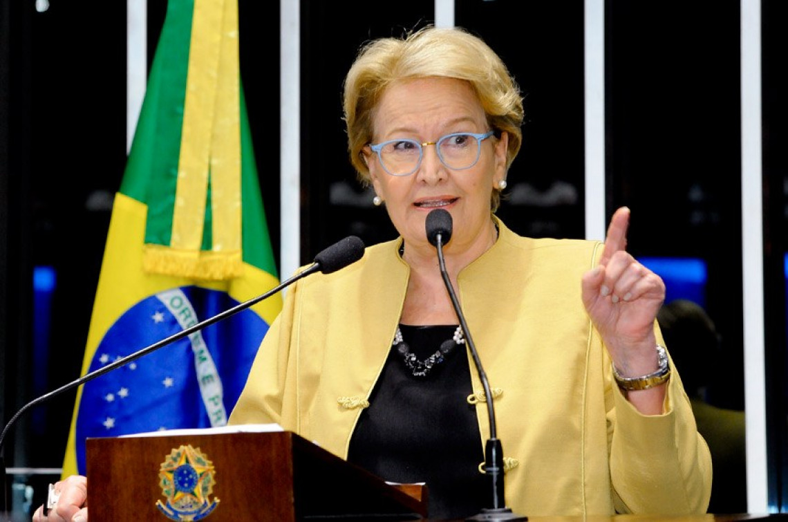 Ana Amélia questiona silêncio da oposição em relação ao roubo nos fundos de pensão que penalizou trabalhadores