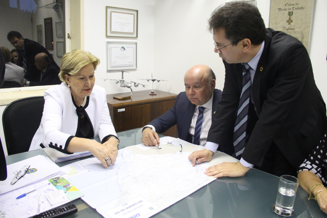 Segunda ponte do Guaíba é tema de audiência com Secretário de Gestão de Programas de Transportes Luciano Castro