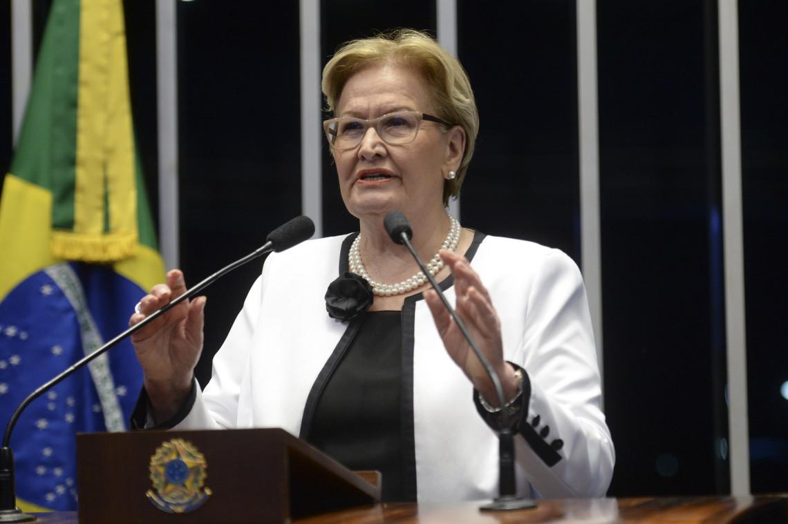 Ana Amélia aponta resultados da 'gestão irresponsável' do governo Dilma