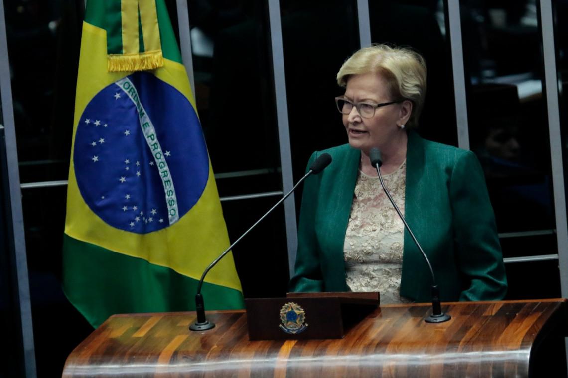 Ana Amélia encaminha voto favorável ao impeachment