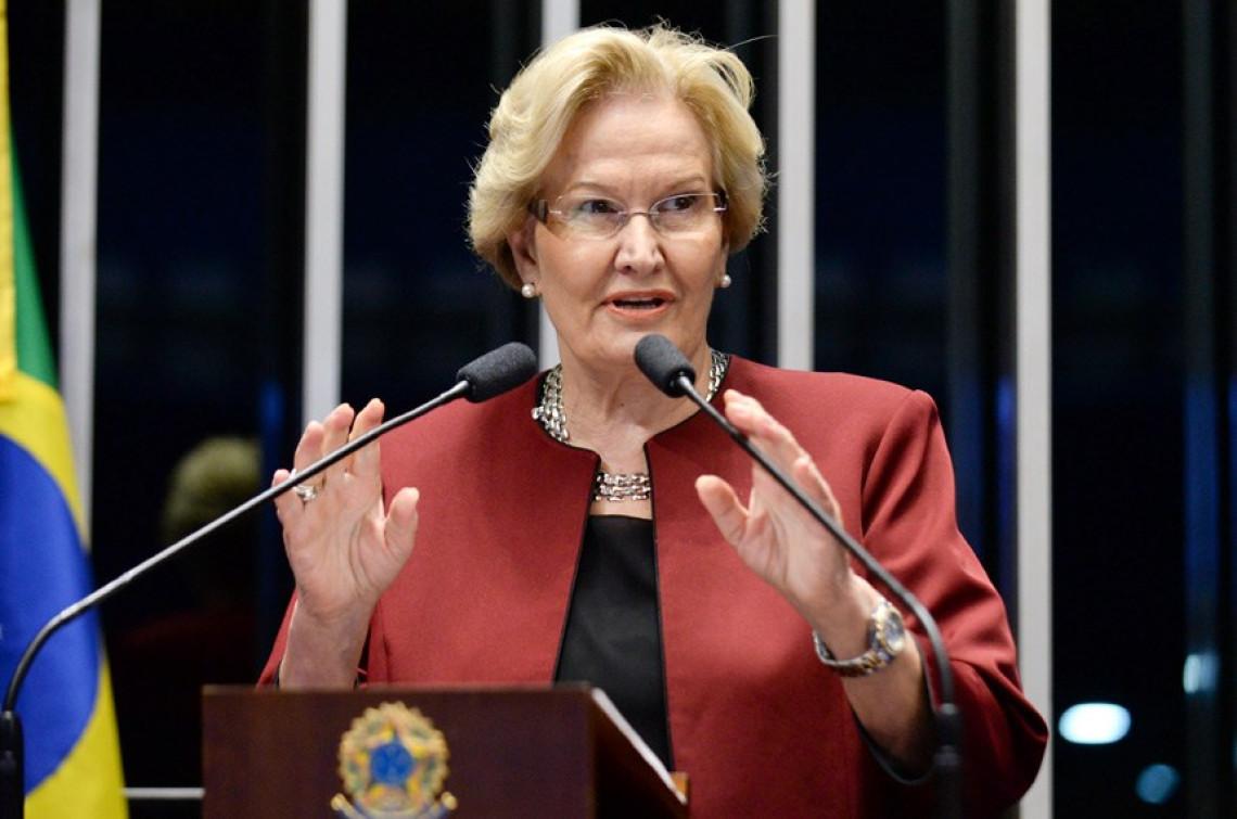 Decisão do STF concedendo liminar para o RS na questão da dívida é destacada pela senadora na tribuna