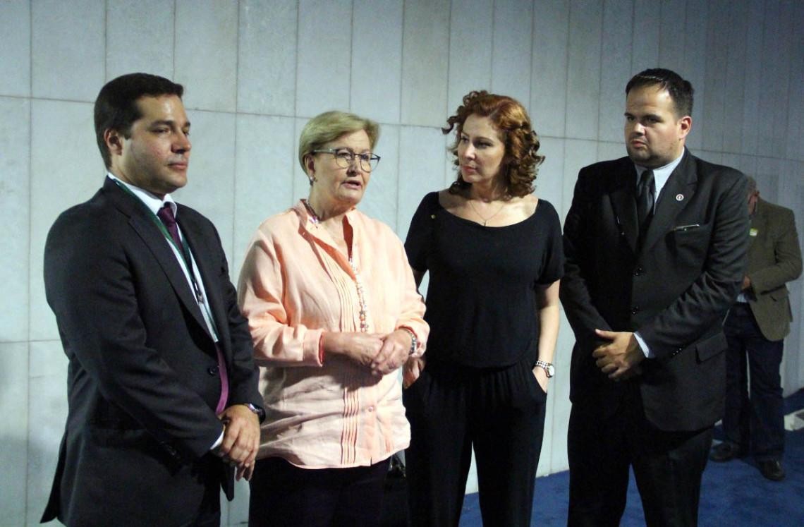 Ana Amélia apoia PEC determinando lista tríplice na escolha para diretor da PF