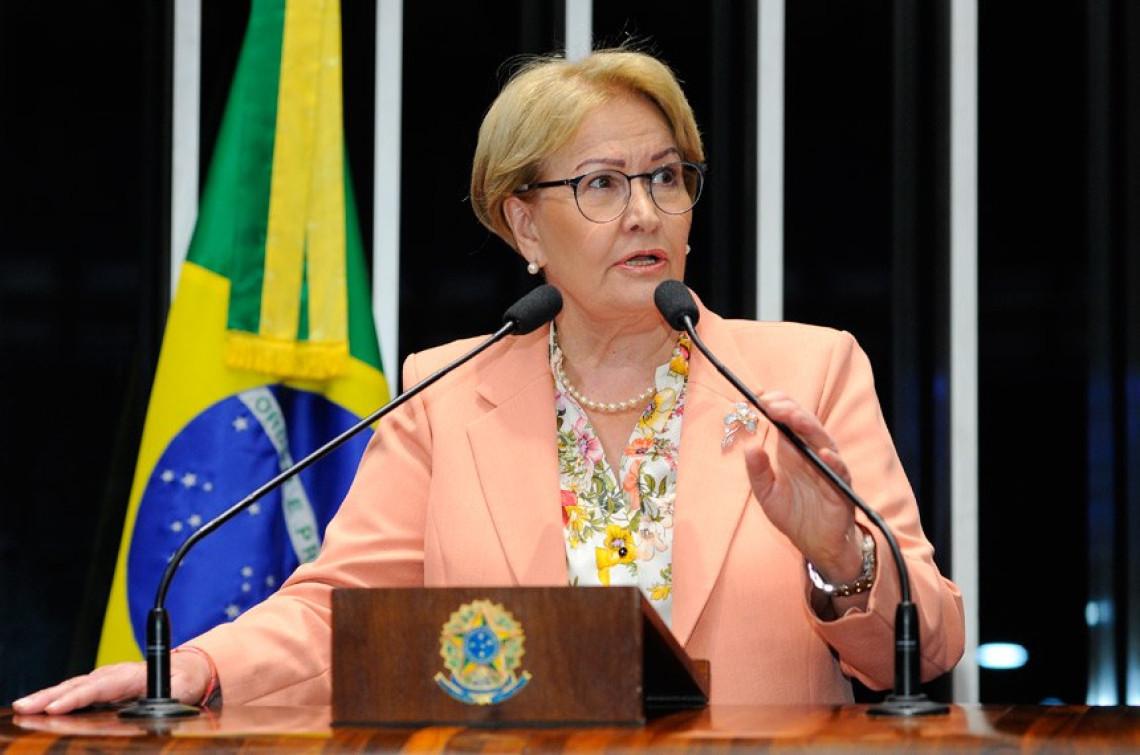 Ana Amélia foi contra projeto do Fundo de Financiamento de Campanha