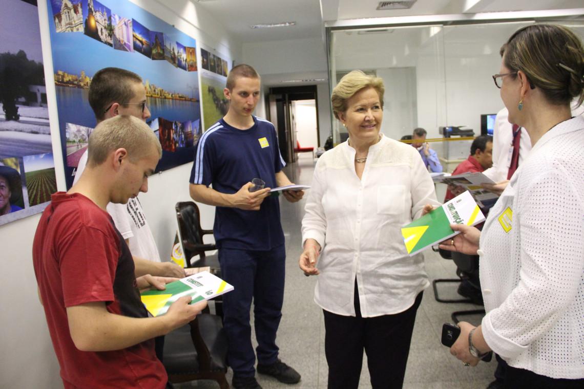 Colégio Tiradentes, de Ijuí, é segundo lugar na Olimpíada Brasileira de Geografia em Brasília