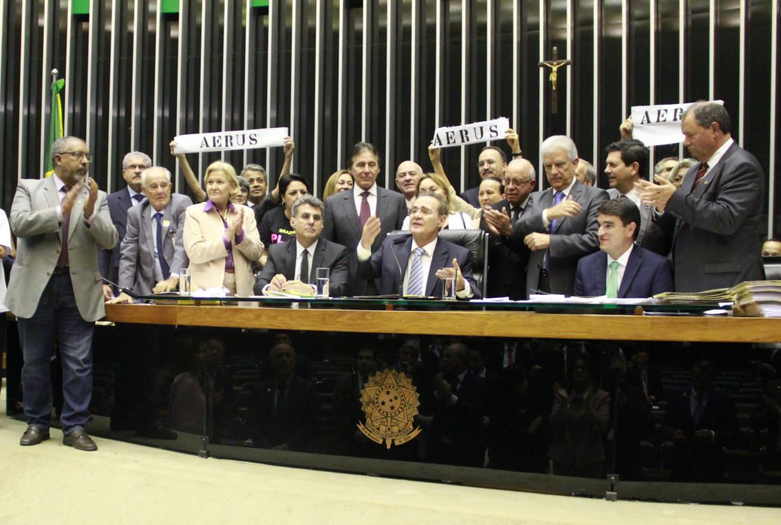 Ana Amélia destaca aprovação do projeto que regulariza pagamentos aos aposentados do Fundo Aerus