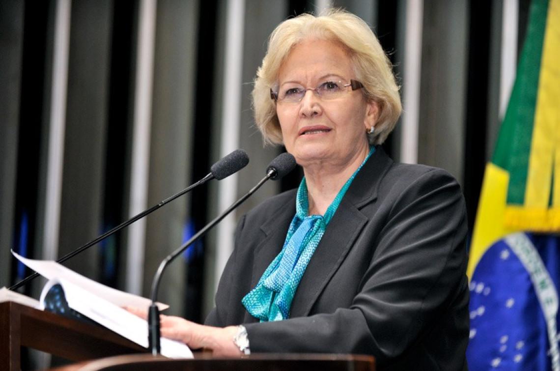 Aprovação de lei antiterrorismo é defendida pela senadora Ana Amélia