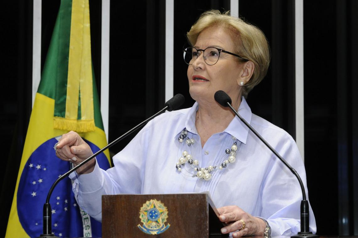 Ana Amélia critica ataques petistas a juízes e integrantes do MP
