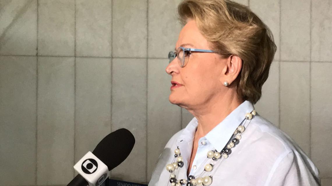 Não pode colocar a raposa para cuidar do galinheiro, diz Ana Amélia sobre Conselho de Ética do Senado