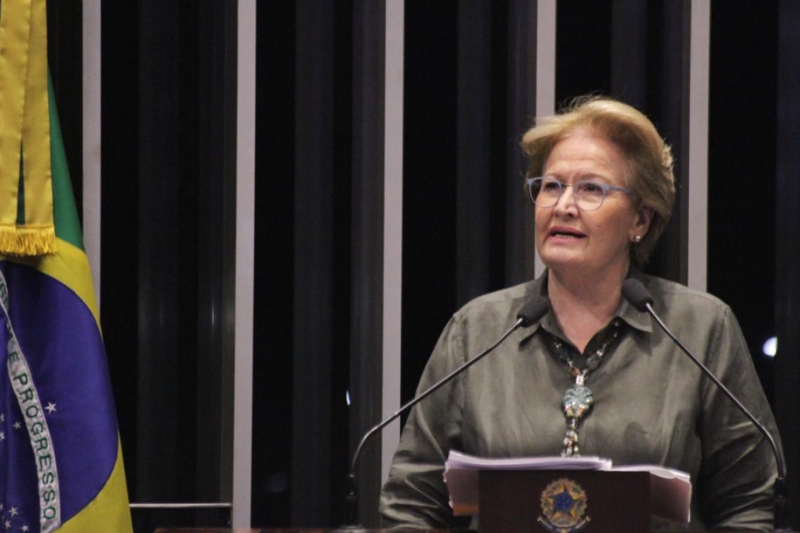 Ana Amélia pede ação do governo federal no caso das cheias no Rio Grande do Sul