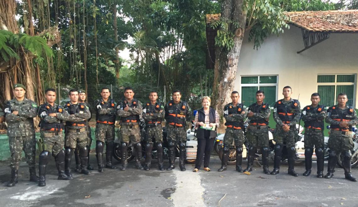 Senadora integra comitiva em missão no coração da floresta amazônica