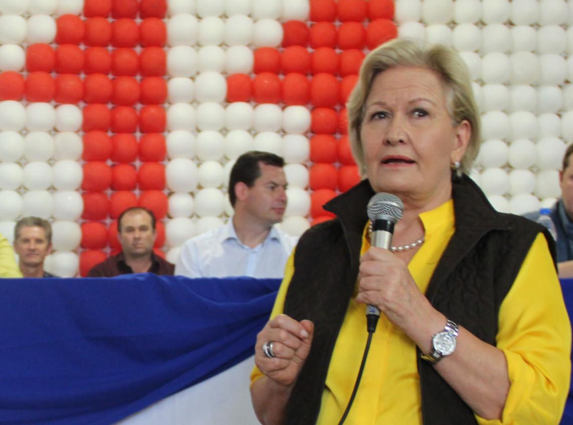 Ana Amélia estará em Santa Maria, Santana do Livramento e Uruguaiana