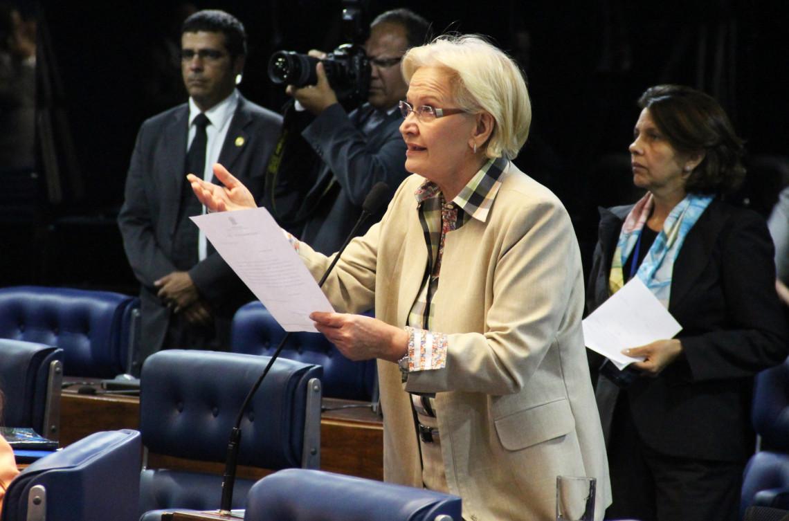 Ana Amélia repudia agressão a senadores brasileiros na Venezuela