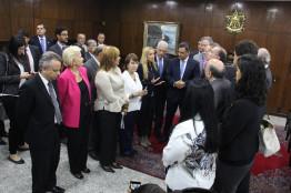 Vinda ao Senado de venezuelanas opositoras ao governo