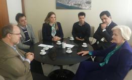 Reuniões em Porto Alegre (15.05.2015)