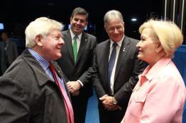 Congresso Nacional celebra 45 anos da Organização das Cooperativas do Brasil